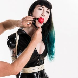 Louisa in bondage