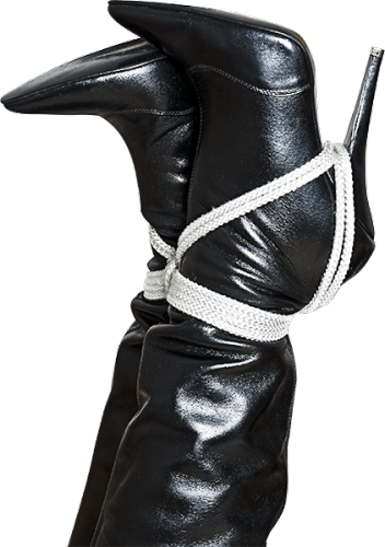 Boots in bondage